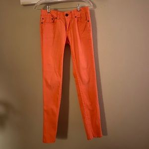 What about me - junior slim coral stretchy pants